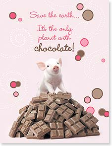 Valentine's Day Note Card Set - Save the earth... | Wild-Side Brands Ltd | 92248 | Leanin' Tree