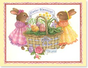 Easter Note Card Set - Easter Blessings to You - 92250 | Leanin' Tree