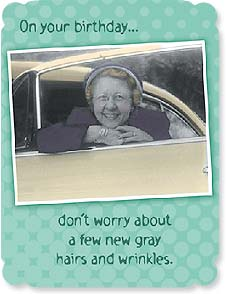 Birthday Card - Just remember all the good times you had puttin' 'em there! | Maggie Mae Sharp | 92256 | Leanin' Tree