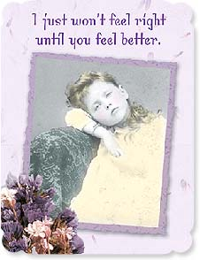 Get Well Card - Please Get Well Soon | Maggie Mae Sharp | 92262 | Leanin' Tree