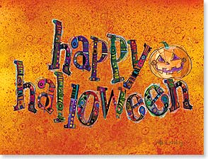 Halloween Note Card Set - Have a wicked good time! | Robbin Rawlings | 92287 | Leanin' Tree