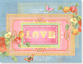 Valentine's Day Note Card Set<BR/>8 of 1 design - Vintage Valentine | Shawn Byles | 92349 | Leanin' Tree