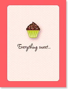Valentine's Day Note Card Set<BR/>8 of 1 design - Everything sweet...reminds me of you! | Simon+Kabuki™ | 92351 | Leanin' Tree