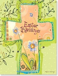 Easter Note Card Set<BR/>8 of 1 design - May your Springtime be filled with joy and hope. | Robbin Rawlings | 92362 | Leanin' Tree