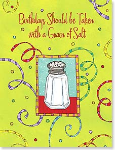 Birthday Card - ...and some margarita mix.  Happy Birthday! | Tim Coffey | 95265 | Leanin' Tree