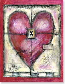 Loving Thoughts Card - Staff Pick - XOXOX | Lisa Kaus | 95292 | Leanin' Tree