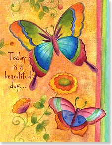 Birthday Card - Staff Pick - A Beautiful Day to Celebrate You | Sue Zipkin | 95309 | Leanin' Tree