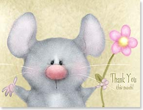 Thank You Card - Staff Pick - Thank You This Much! | Shelly Comiskey | 95338 | Leanin' Tree