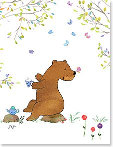 Birthday Card - Delightful Moments | Jim Ishikawa | 95339 | Leanin' Tree