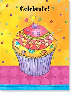 Birthday Card - Staff Pick - Cupcake Sprinkles! | Sue Zipkin | 95342 | Leanin' Tree