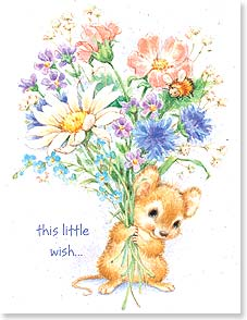 Get Well Card - Staff Pick - Sweet Little Wishes | Designs by Current | 95343 | Leanin' Tree