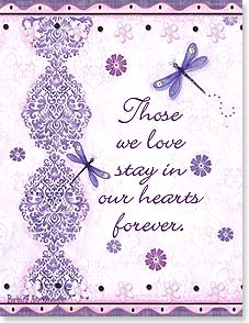 Sympathy Card - Forever In Our Hearts | Barbara Ann Kenney | 95346 | Leanin' Tree
