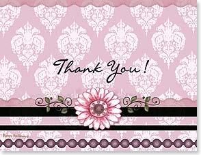 Thank You Card - Staff Pick - Pretty in Pink | Barbara Ann Kenney | 95347 | Leanin' Tree