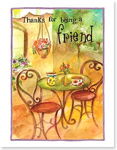 Friendship Card - You always know just how to perk me up!  | Sue Zipkin | 95364 | Leanin' Tree