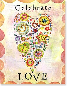 Anniversary Card - Celebrate Love | Sue Zipkin | 95366 | Leanin' Tree