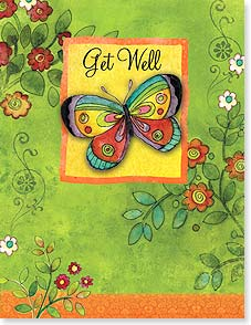 Get Well Card - Hoping that you're soon feeling your usual beautiful self!  | Sue Zipkin | 95370 | Leanin' Tree