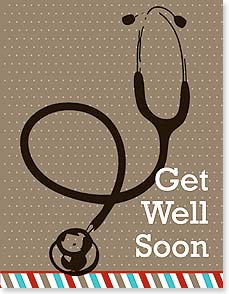 Get Well Card - Those are the doctor's orders and my friendly suggestion. | Simon+Kabuki™ | 95372 | Leanin' Tree
