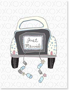 Congratulations Card - On the road to happily-ever-after! | Cindy Ann Ganaden | 95375 | Leanin' Tree