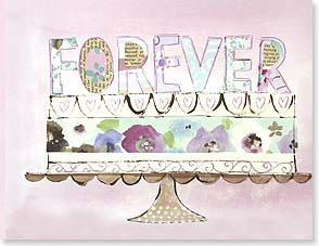 Wedding Card - FOREVER Congratulations to the Bride and Groom | Jane Kitching | 97298 | Leanin' Tree