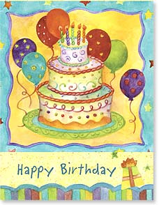 Birthday Card - Staff Pick - When it comes to wonderful, you take the cake! | Sue Zipkin | 97301 | Leanin' Tree