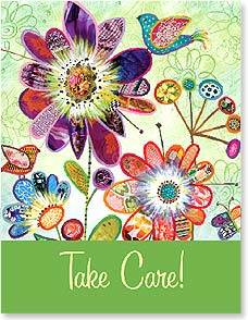Get Well Card - Cheerful Get Well Wishes | Lori Siebert | 97317 | Leanin' Tree