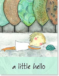 Hello Card - A Little Hello | Carla Sonheim | 97324 | Leanin' Tree