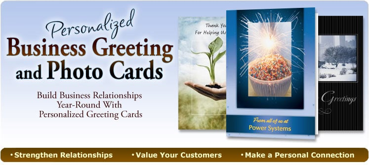 Personalized Greeting Cards for Business