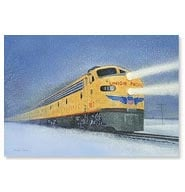 Train Christmas Cards