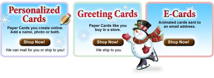 Leanin' Tree Christmas and Holiday Greeting Cards