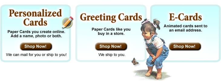 Greeting Cards filled with Blessings, Faith and Prayers