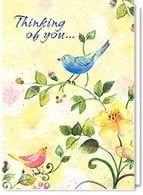 Thinking of You Friendship Card