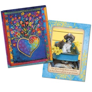 Qualifying cards for the B20G10 greeting card offer
