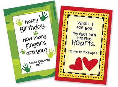 Kid Quips Greeting Cards from Leanin' Tree